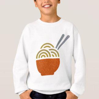 Glitter Noodle Soup Kids Sweatshirt