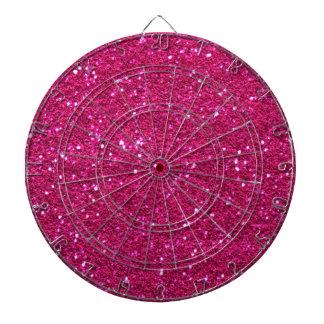 Glitter pink Dartboard