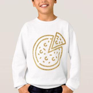 Glitter Pizza Sweatshirt