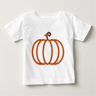 Glitter Pumpkin Items Baby T-Shirt