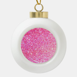 Glitter Shiny Luxury Ceramic Ball Decoration