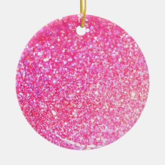 Glitter Shiny Luxury Round Ceramic Decoration