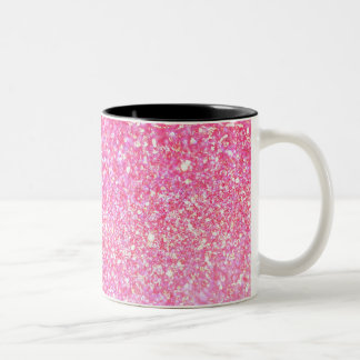 Glitter Shiny Luxury Two-Tone Coffee Mug