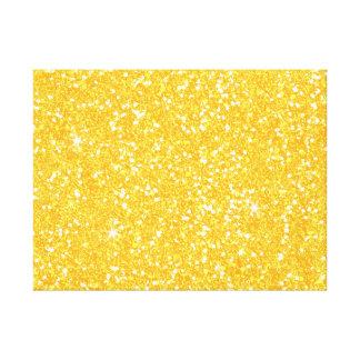 Glitter Shiny Sparkley Canvas Print