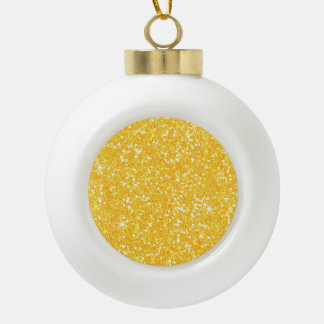 Glitter Shiny Sparkley Ceramic Ball Decoration
