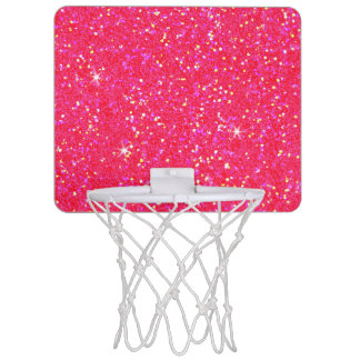 Glitter Shiny Sparkley Mini Basketball Hoop