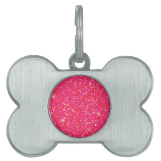 Glitter Shiny Sparkley Pet Tag