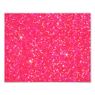 Glitter Shiny Sparkley Photo Print