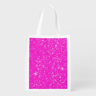 Glitter Shiny Sparkley Reusable Grocery Bag