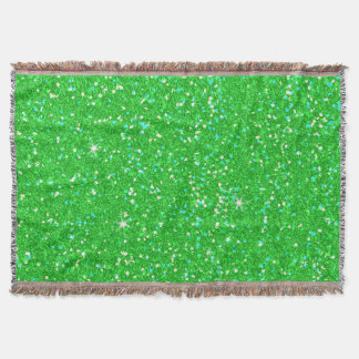 Glitter Shiny Sparkley Throw Blanket