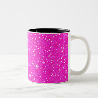 Glitter Shiny Sparkley Two-Tone Coffee Mug