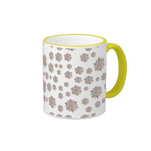 Glitter Snowflakes Mug