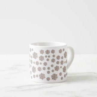 Glitter Snowflakes Espresso Cup