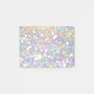 glitter sparkle silver fun artsy post it note