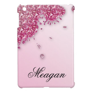 Glitter Splash iPad Cover PInk