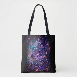 Glitter Splatter Tote Bag