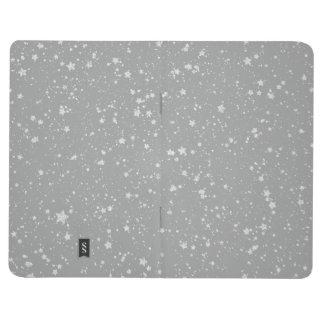 Glitter Stars4 - Silver Journal