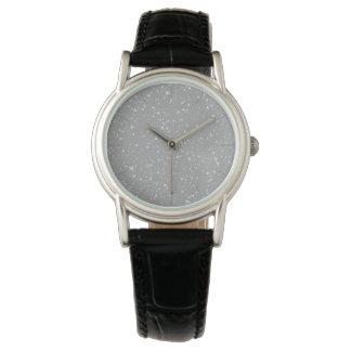 Glitter Stars4 - Silver Watch