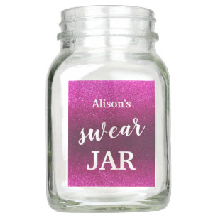 Funny Swear Jar Mason Jars Zazzle Com Au