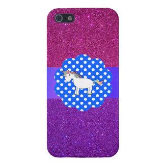 Glitter unicorn cases for iPhone 5