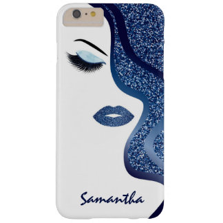 Glitter woman barely there iPhone 6 plus case