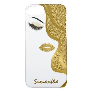 Glitter woman iPhone 8/7 case