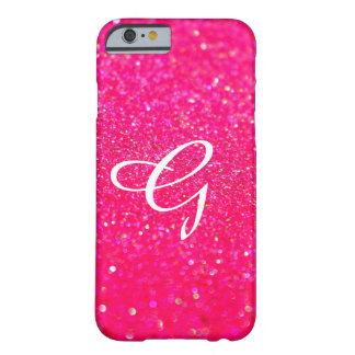 Glittered Phone Cover Pink