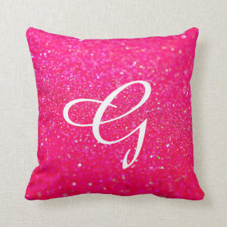 Glittered Pillow Pink