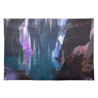 Glittering Caves by Night Placemat