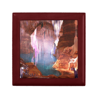 Glittering Caves Jewelry Box