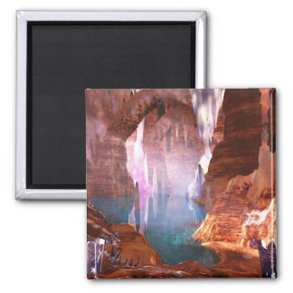 Glittering Caves Magnet