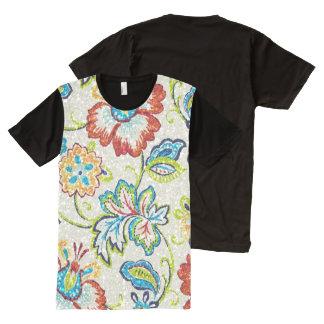 Glittering Flowers for Mom All-Over Print T-Shirt