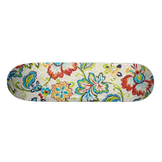 Glittering Flowers for Mom Skate Board