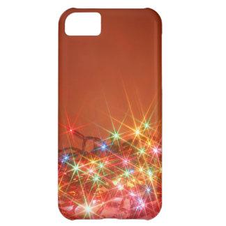 Glittering seasonal lights iPhone 5C covers