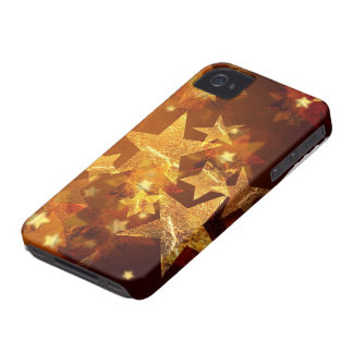Glitters and Stars iPhone 4 Case