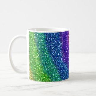 Glitters Rainbow Basic White Mug
