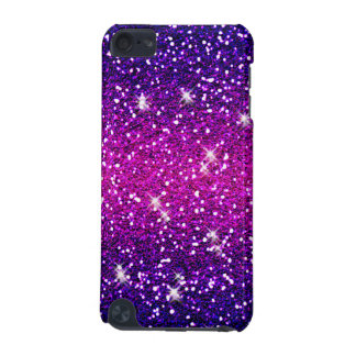 Glitters Sparkles Purple Pink Texture iPod Touch 5G Cover