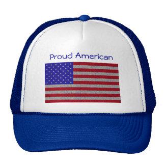 Glittery American Flag Cap