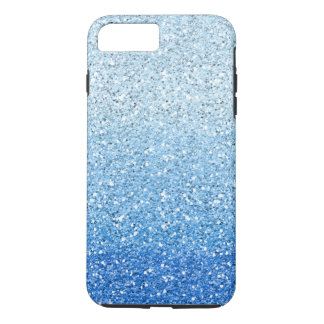 Glittery Blue Ombre Spectrum iPhone 8 Plus/7 Plus Case