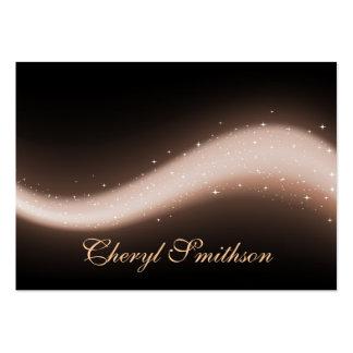 Glittery Design Business Card