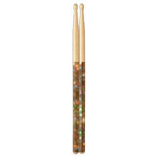 Glittery Gold Glitter Drumsticks Drumsticks