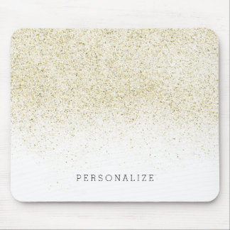 Glittery Gold Mouse Pad