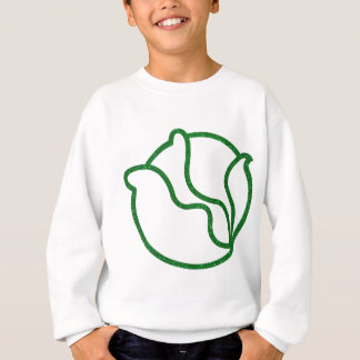 Glittery Head of Cabbage Sweatshirt