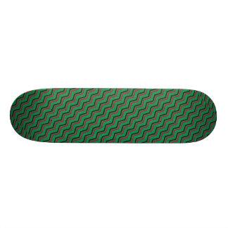 Glittery Holiday Zigzags 21.3 Cm Mini Skateboard Deck
