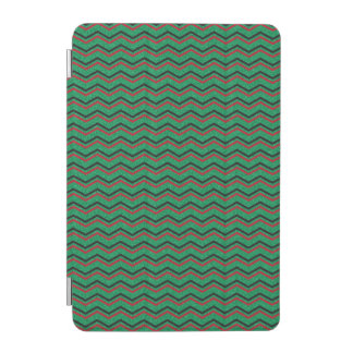 Glittery Holiday Zigzags iPad Mini Cover