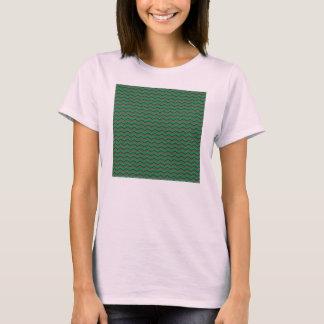 Glittery Holiday Zigzags T-Shirt