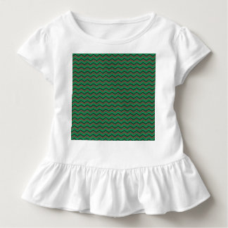 Glittery Holiday Zigzags Toddler T-Shirt
