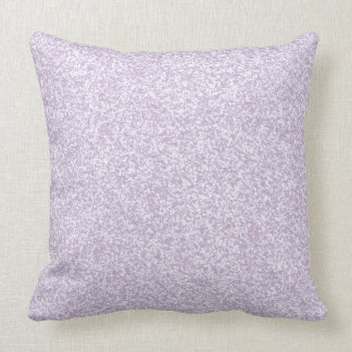 Glittery Lavender Throw Pillow
