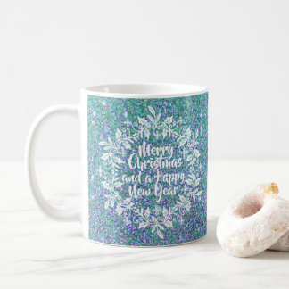 Glittery Merry Christmas | Classic Mug