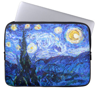 Glittery Night Laptop Sleeve